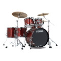 Tama Starclassic Performer B/B Shell Pack - 5-piece - Coral Red SparkleStarclassic Performer B/B Shell Pack - 5-piece - Coral Red Sparkle