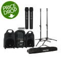 Behringer Europort PPA500BT Compact PA System with Wireless MicsEuroport PPA500BT Compact PA System with Wireless Mics