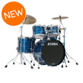 Tama Starclassic Performer B/B Shell Pack - 4-piece - Ocean Blue Ripple