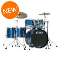 Tama Starclassic Performer B/B Shell Pack - 5-piece - Ocean Blue Ripple Lacquer