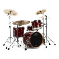 DW Performance Series 3-piece Bop Shell Pack Cherry Stain LacquerPerformance Series 3-piece Bop Shell Pack Cherry Stain Lacquer
