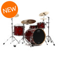 DW Performance Series 4 Piece Rock Shell Pack With Snare Drum - 22