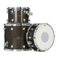DW Performance Series 3 Piece Tom/Snare Pack - Pewter Sparkle Finish PlyPerformance Series 3 Piece Tom/Snare Pack - Pewter Sparkle Finish Ply