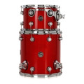 DW Performance Series 2-piece Bop Tom Pack - Candy Apple LacquerPerformance Series 2-piece Bop Tom Pack - Candy Apple Lacquer