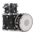 DW Performance Series 3-piece Tom/Snare Pack - Black Diamond Finish PlyPerformance Series 3-piece Tom/Snare Pack - Black Diamond Finish Ply