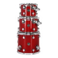 DW Performance Series 3-pc Tom Pack - Candy Apple Red Lacquer