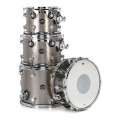 DW Performance Series 4-Piece Tom/Snare Pack - Titanium Sparkle Finish PlyPerformance Series 4-Piece Tom/Snare Pack - Titanium Sparkle Finish Ply