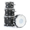 DW Performance Series 4-Piece Tom/Snare Pack - Black Diamond Finish PlyPerformance Series 4-Piece Tom/Snare Pack - Black Diamond Finish Ply