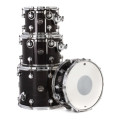 DW Performance Series 4-piece Tom/Snare Pack  - Ebony Stain LacquerPerformance Series 4-piece Tom/Snare Pack  - Ebony Stain Lacquer
