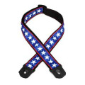 D'Addario Planet Waves 50PLA10 Planet Lock Stars & Stripes Guitar Strap with Locking System