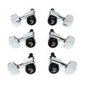 D'Addario Planet Waves Auto-Trim Locking Tuners - 3+3 - Chrome