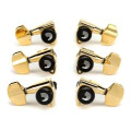 D'Addario Planet Waves Auto-Trim Locking Tuning Machine Heads - 3+3 - Gold