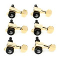 D'Addario Planet Waves Auto-Trim Locking Tuners - 6-Inline - Gold