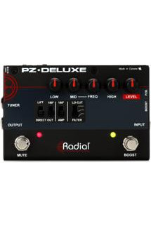 Radial Tonebone PZ-Deluxe 1-channel Preamp and DI for Acoustic Guitar