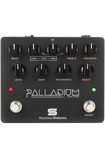 Seymour Duncan Palladium Gain Stage Distortion Pedal - Black