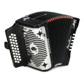 Hohner Panther Diatonic Accordion - keys of G, C, and F