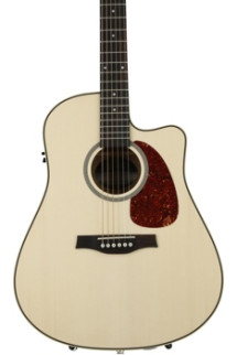 Seagull Guitars Performer Cutaway Flame Maple QI - Natural