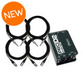 Radial ProD2 Direct Box & Cable PackageProD2 Direct Box & Cable Package