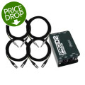 Radial ProD2 Direct Box Package w/ProCo CablesProD2 Direct Box Package w/ProCo Cables