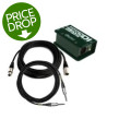 Radial ProDI Direct Box Package with Pro Co CablesProDI Direct Box Package with Pro Co Cables