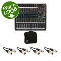 Mackie ProFX16v2 16-channel Mixer with Case and Cables