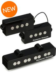Seymour Duncan Quarter Pound P-J Bass Set - Black