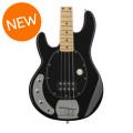 Sterling Ray4 Left-Handed - Gloss Black, Maple FingerboardRay4 Left-Handed - Gloss Black, Maple Fingerboard