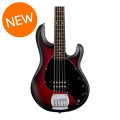 Sterling Ray5 - Ruby Red Burst Satin, Rosewood FingerboardRay5 - Ruby Red Burst Satin, Rosewood Fingerboard