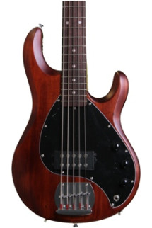 Sterling Ray5 - Walnut Satin, Rosewood Fretboard
