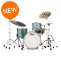 Pearl Music City Custom Reference Pure Shell Pack - 3-piece, Turquoise GlassMusic City Custom Reference Pure Shell Pack - 3-piece, Turquoise Glass