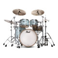 Pearl Music City Custom Reference Pure Shell Pack 4-piece - Ice Blue Oyster WrapMusic City Custom Reference Pure Shell Pack 4-piece - Ice Blue Oyster Wrap