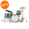 Pearl Music City Custom Reference Pure Shell Pack - 4-piece, Turquoise GlassMusic City Custom Reference Pure Shell Pack - 4-piece, Turquoise Glass