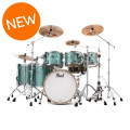 Pearl Music City Custom Reference Pure Shell Pack - 6-piece, Turquoise GlassMusic City Custom Reference Pure Shell Pack - 6-piece, Turquoise Glass