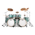Pearl Music City Custom Reference Pure Double Bass Shell Pack 8-piece - Turquoise GlassMusic City Custom Reference Pure Double Bass Shell Pack 8-piece - Turquoise Glass