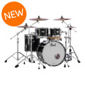Pearl Reference Pure 4-piece Shell Pack - Piano BlackReference Pure 4-piece Shell Pack - Piano Black