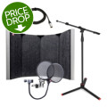 sE Electronics Reflexion Space Studio Package - w/Stand, Cable, and Pop Filter