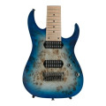 Ibanez RG Prestige RG852MPB - Ghost Fleet Blue BurstRG Prestige RG852MPB - Ghost Fleet Blue Burst