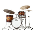 Gretsch Drums Renown 4-piece Jazz Shell Pack with Matching Snare - Satin Tobacco BurstRenown 4-piece Jazz Shell Pack with Matching Snare - Satin Tobacco Burst