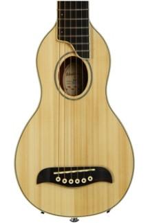Washburn RO10 Rover Travel Guitar - Natural