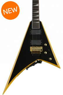 Jackson RR24 X Series Rhoads - Black with Yellow Bevels