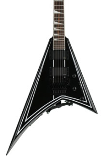Jackson RRXMG X Series Rhoads - Black with White Pinstripe
