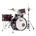 Pearl Roadshow 4-piece Complete Drum Set with Cymbals - Wine Red