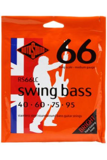 Rotosound RS66LC Swing Bass 66 Stainless Steel Roundwound Long Scale Bass Strings