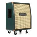 Mesa/Boogie 2x12 Recto Vertical 120-watt Angled Extension Cabinet - Emerald Green w/ Wicker Grille2x12 Recto Vertical 120-watt Angled Extension Cabinet - Emerald Green w/ Wicker Grille