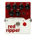 Tech 21 Red Ripper Bass Fuzz PedalRed Ripper Bass Fuzz Pedal