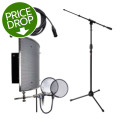 sE Electronics Reflexion Pro Studio Package - w/Stand, Cable, and Pop Filter