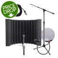 sE Electronics ReflexionX Studio Package - w/Stand, Cable, and Pop FilterReflexionX Studio Package - w/Stand, Cable, and Pop Filter