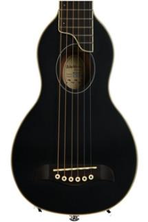 Washburn RO10 Rover Travel Guitar - Black