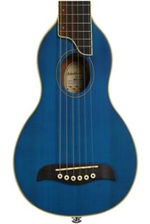Washburn RO10 Rover Travel Guitar - Blue