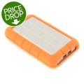 LaCie 500GB Rugged Hard Disk Triple - USB3.0/FW800500GB Rugged Hard Disk Triple - USB3.0/FW800